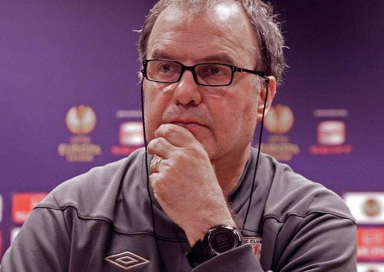 Marcelo Bielsa, entrenador del Athletic Club de Bilbao