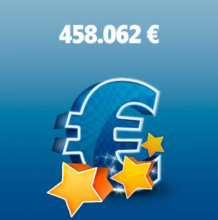 Premio de 458.062 euros