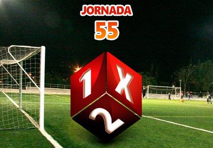 Jornada 55 Quiniela de Fútbol