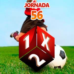 Jornada 56 Quiniela de Fútbol
