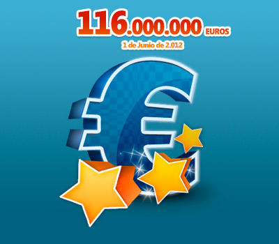 Bote 116 Millones Euromillones
