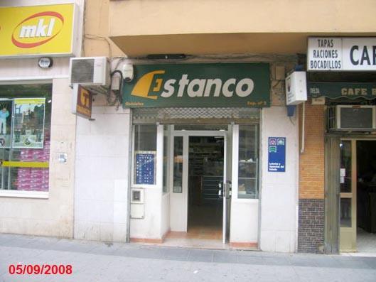 Despacho receptor 8.735 de Badajoz