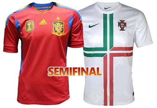 Camisetas España - Portugal