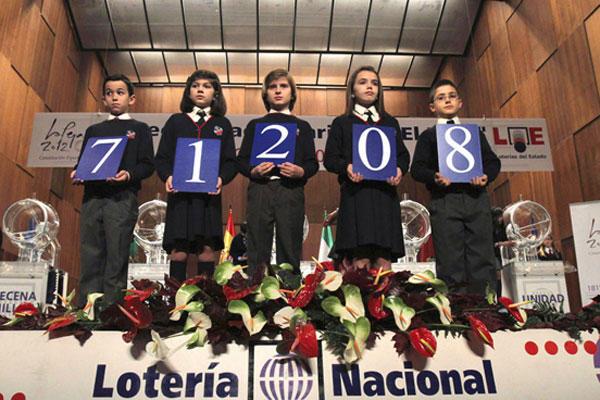 Número premiado en 2012