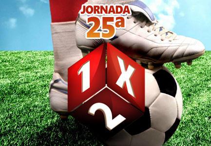 Jornada 25ª de Quiniela de Fútbol