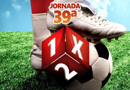 Jornada 39ª de Quiniela de Fútbol