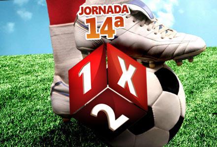 Jornada 14ª de Quiniela de Fútbol