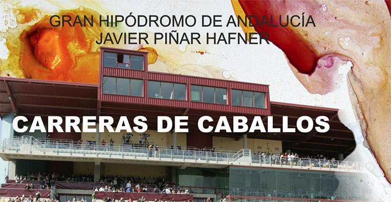 Cartel del Gran Hipódromo de Andalucía