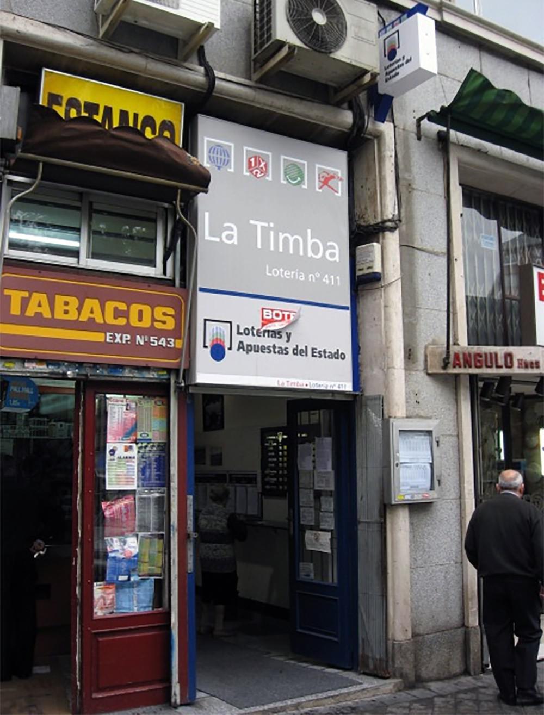 Administración de Loterías número 411 de Madrid | Foto: Loteriasyapuestas