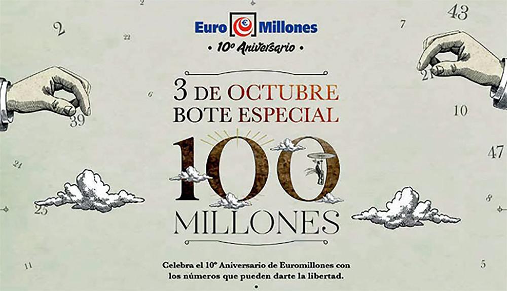 10º  Aniversario Euromillones  Foto: Selae