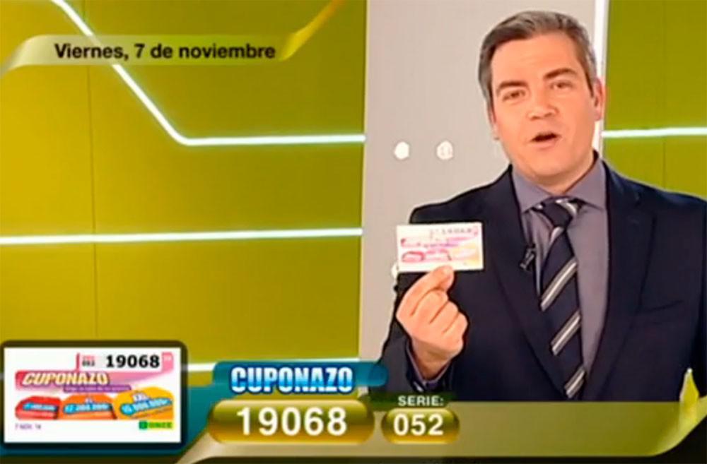 Cuponazo 7 de noviembre de 9.000.000 de Euros | Foto: RTVE