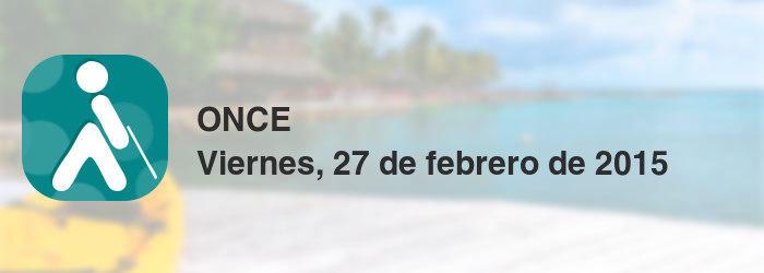 ONCE del viernes, 27 de febrero de 2015