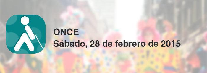 ONCE del sábado, 28 de febrero de 2015