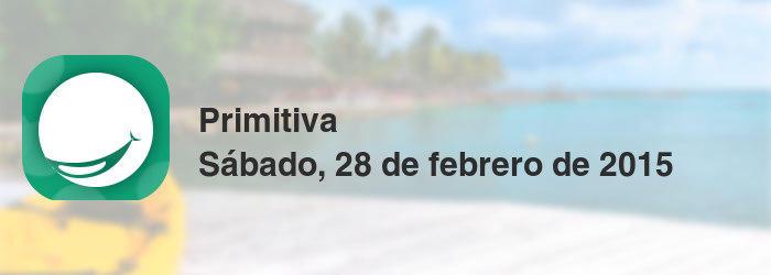 Primitiva del sábado, 28 de febrero de 2015
