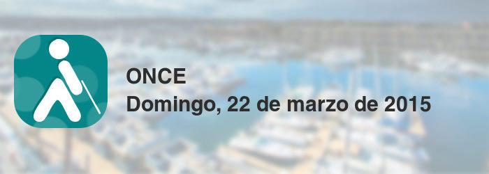 ONCE del domingo, 22 de marzo de 2015