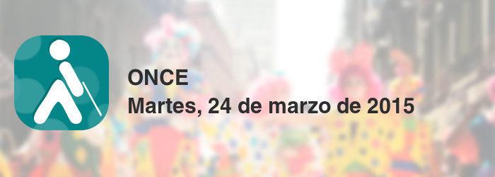 ONCE del martes, 24 de marzo de 2015