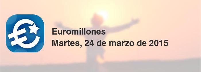 Euromillones del martes, 24 de marzo de 2015