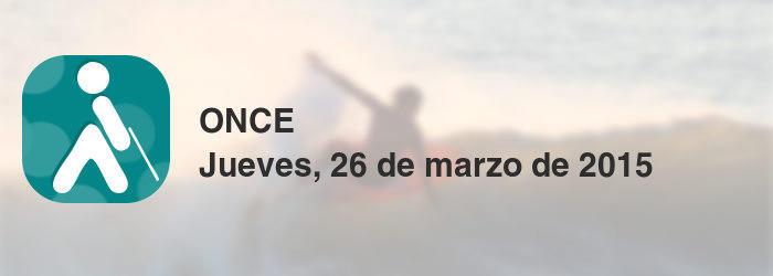 ONCE del jueves, 26 de marzo de 2015