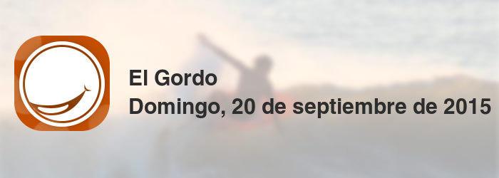 El Gordo del domingo, 20 de septiembre de 2015