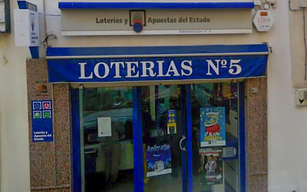 Administración número 5 de Linares | Foto: Combinacionganadora