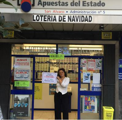 Administración nº 5 Córdoba   Foto: SELAE