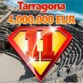 Premio de 4 millones en Tarragona