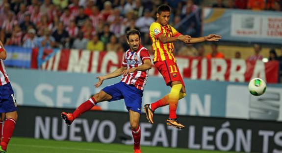 Atlético y Barça se juegan la primera posición
