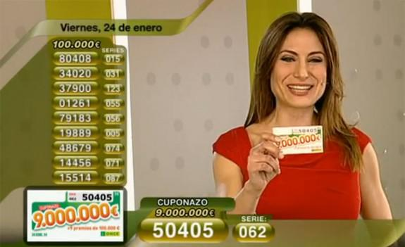 Cuponazo de 9.000.000 de Euros 24 de Enero | RTVE