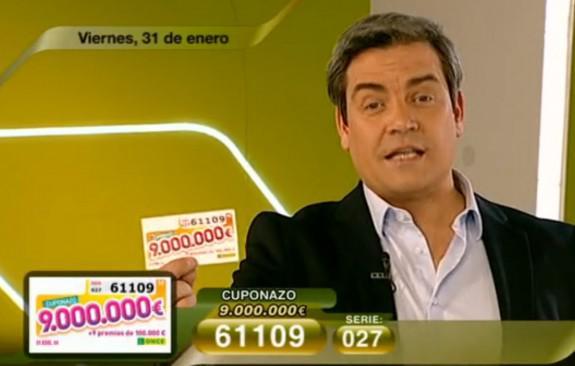 Cuponazo del 31 de enero con 9.000.000 de Euros | RTVE