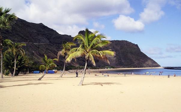 Playa de las Teresitas, Santa Cruz de Tenerife | Foto: Peng