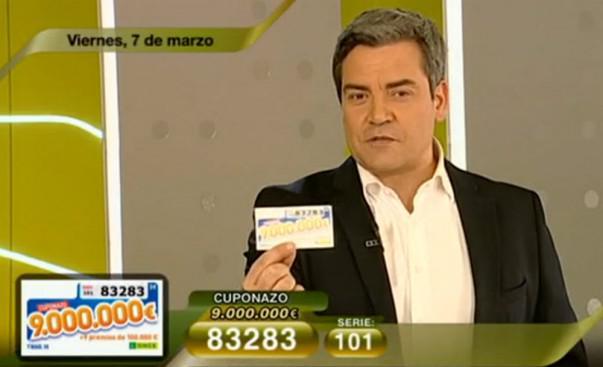 Cuponazo del 7 de marzo de 9.000.000 de Euros | Foto: RTVE