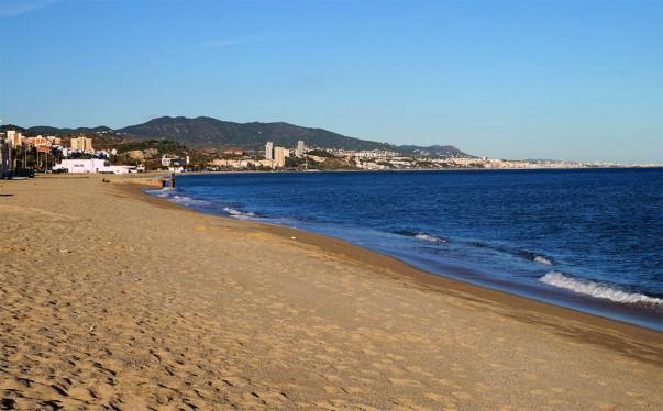 Playa de Badalona | Foto: Daniel Sejer