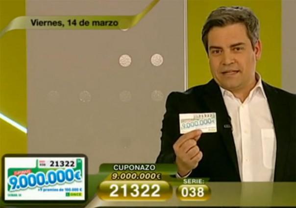 Cuponazo del 14 de marzo de 9.000.000 de Euros | Foto: RTVE