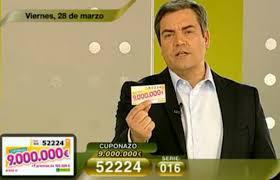 Cuponazo del 28 de marzo de 9.000.000 de Euros | Foto: RTVE
