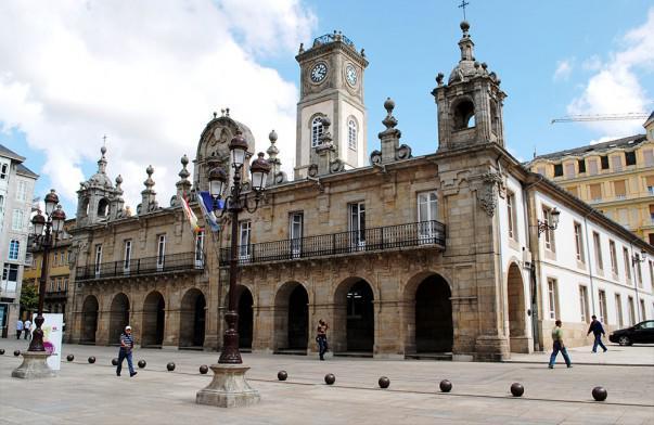 Casa Consistorial de Lugo   Foto: HombreDHojalata