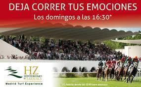 Cartel de las carreras en La Zarzuela | Foto: Hipódromo de la Zarzuela