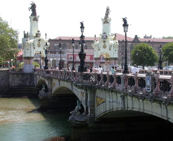 San Sebastián Puente María Cristina | Foto: M@X