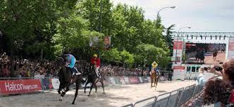 Recientemente se celebraron carreras en la Castellana | Foto: OpenHZ