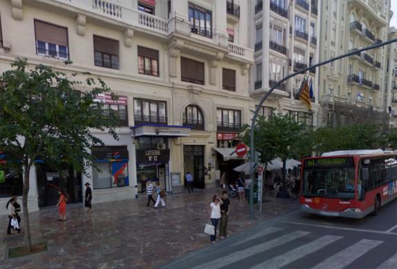 Administración de Loterías número 12 de Valencia | Foto: Google Maps