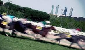 Espectacular toma en carrera | Foto: hipodromodelazarzuela.es