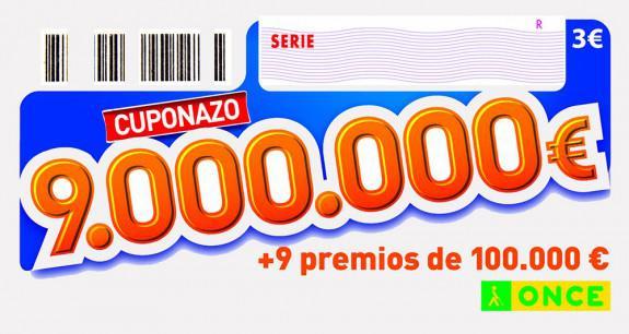 Cuponazo de 9.000.000 de Euros