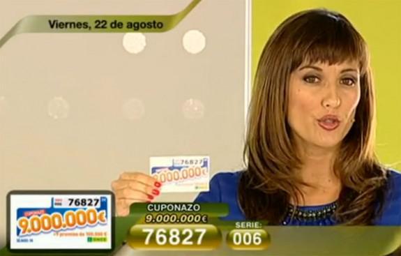 Cuponazo de 9.000.000 de Euros | Foto: RTVE