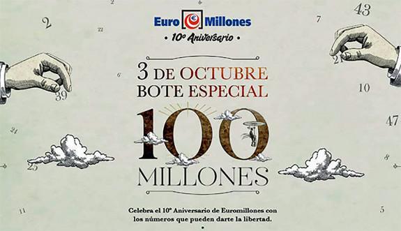 10º  Aniversario Euromillones |Foto: Selae