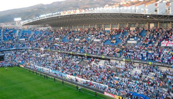 El Málaga recibe en La Rosaleda al Valencia en un complicado partido | Foto: Morancio