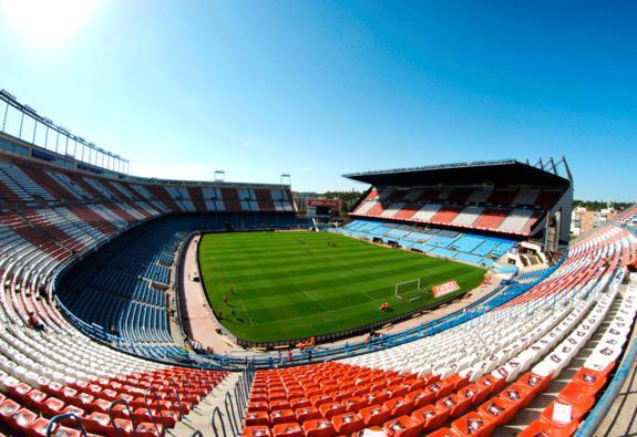 El Atlético de Madrid recibe al Elche en el Vicente Calderón | Foto: Bruce W.