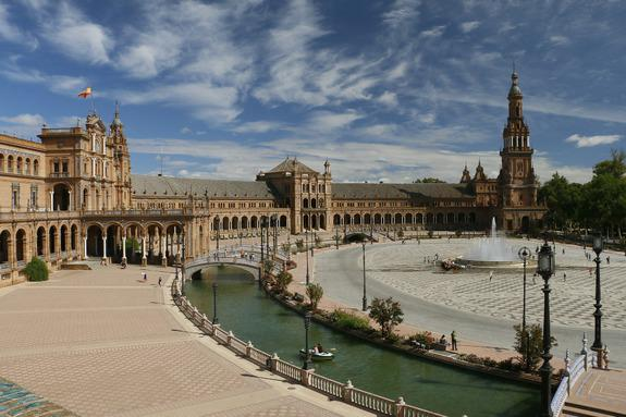Plaza de España, Sevilla | Foto: Campunet