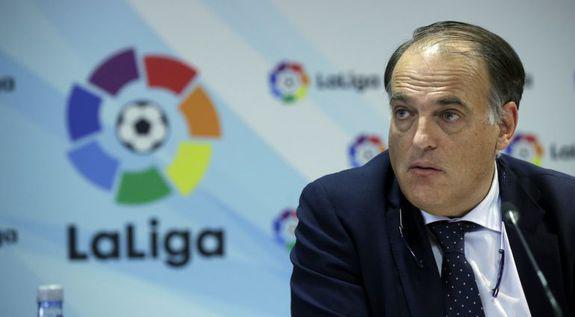 Javier Tebas ha anunciado el nuevo nombre de LaLiga