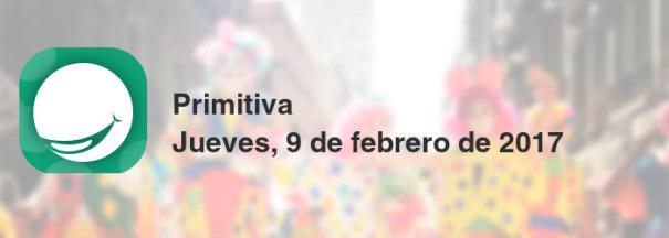 Primitiva del jueves, 9 de febrero de 2017