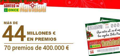 Sorteo de Navidad de ONCE con 44 millones en premios. Foto: ONCE
