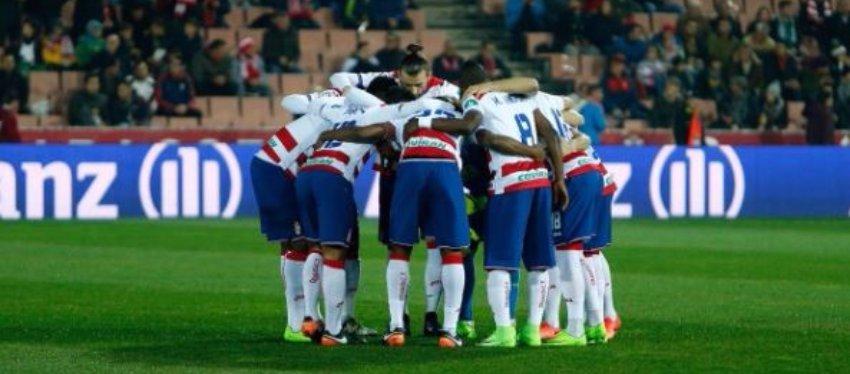 Jugadores del Granda CF | Foto: Granada CF